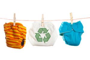 Il ritorno ai pannolini lavabili per una maggiore attenzione all'ecologia e all'ambiente