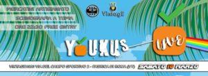 Il prossimo concerto degli Youkus, 10 Marzo a Fabrica di Roma, durante il Vintage1980. Seguite i beniamini dell'ukulele, una produzione FlipperMusic