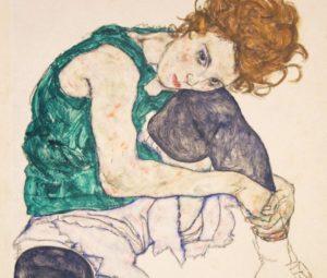 Egon Schiele, pupillo di Klimt e cultore del corpo femminile nell'arte. Le vite di questi grandi artisti nel documentario Klimt & Schiele Eros and Psyche