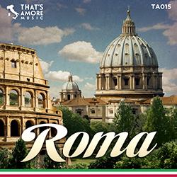 """Il catalogo That's Amore """"Authentic Italian Sound"""" si arricchisce di una nuova produzione TA 015 Roma: il folklore romano in musica, grazie agli stornelli e alle canzoni romane."""