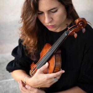 Laura Masotto e il suo violino, per l'album per colonne sonore Here and Now, firmato FlipperMusic