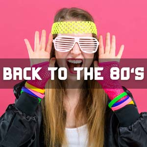 Back to the 80's playlist